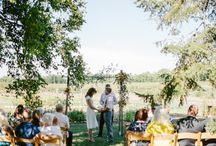 JaCinda & Joe / The intimate, charming farm dinner wedding of JaCinda and Joe.   Florist:Field of Flowers North/Officiant: Brian Grace/Photographer: Dan Stewart Photography – Luke Norris/Attire: Her: Kate Spade, Him: Calvin Klein/Hair & Makeup: Pavlova Salon/Catering: Epicure Catering/Venue: Cherry Basket Farm
