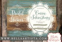 Rustic Bridal Shower / by BellaArtista