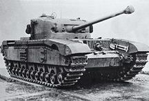 anglické tanky