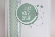 Stampin' Up! - I think you're great!