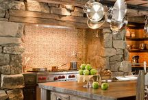 Cottage/cabin interiors