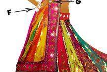 Moda de la India / Vestidos, joyería, zapatos, decoración de salón..  / by Adriana.....