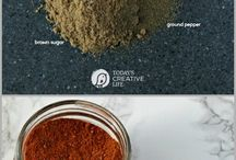 Spices, Rubs, Sauces, and Dips / A whole lot of recipes for Spices, rubs, sauces, and dips.
