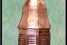 Cupolas~CII / We take pride in our wide selection of quality products. All Copper Innovations products are hand fabricated in house by our shop fabricators.