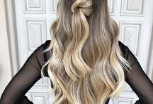 Idéias de cabelos loiros