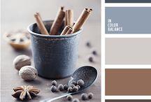 blue brown palette