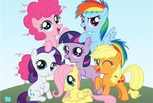 MLP: FIM / My Little Pony: Friendship is Magic! / by Paige Findley