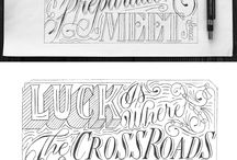 Lettering & Design / by Kayla Wade
