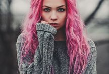 PEOPLE • Female • Pink Hair