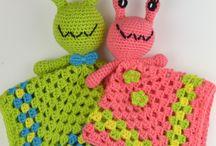 baby lovey crochet