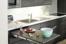 Cuisine / idées de cuisines aménagées marine