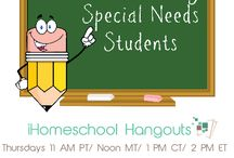 Homeschool Special Needs Students / You are the best teacher for you child, and know best how to teach to their special needs. / by Idaho Coalition of Home Educators