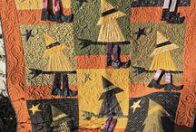 Quilts, Fall & Halloween