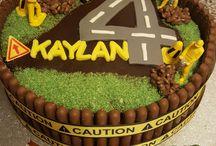 Gâteaux d'anniversaire de garçon