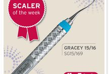 Year of the Scaler | 2014 / Introducing our new series on social media: The Year of the Scaler! We have a LOT of scalers - some you've never even heard of! Every Tuesday we'll post a tip about a scaler that our clinicians have learned (& loved!) over the years. / by Hu-Friedy