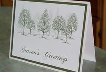 """stampin up """"lovely as a tree"""""""
