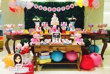Festa Peppa Fada / Festas Criativas e Personalizadas você encontra aqui. Procurando fofuras para a sua festa? Na nossa loja tem! http://danifestas.com.br/