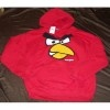 NWT's Angry Birds Red Hoodie Size L Mens Womens Reatil $60.00 / by Casey
