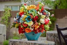 In another life, a floral arranger might sound fun