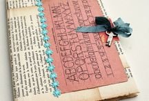 Inspiration - Books & Their Pages / Decorating and creating with them.......