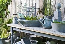 Gardening Vignettes and Displays