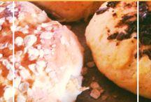 Food: Brot & Brötchen - Bread & Rolls / Rezpte für knusprige Brötchen und herzhafte Brote / Recipes for bread, rolls, bagles, scones and much more