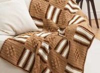 a tweed blanket