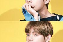 Kim Taehyung / Stage Name: V (븨) Nome: Kim Taehyung→ Hangul: 김태형 Apelidos: TaeTae, Mongtae Posição no grupo: Vocal líder e face.