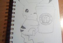 os meus desenhos ❤