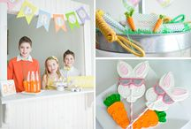 Bunny Party Ideas / By Party Pants LLC / by Cristy Mishkula @ Pretty My Party
