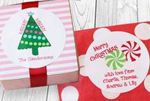 Wrapping Christmas Gifts / Personalized and Monogram Packaging for Christmas