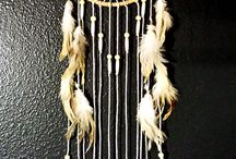 dream catchers and wind chimes
