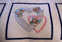 Amish Embroidered Quilts