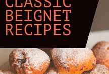 Easy Beignet Recipes / Delicious and easy beignet recipes. Beignets are a light French donut that you will find at Cafe du Monde in New Orleans. Try some dusted in powdered sugar and enjoy with a warm cup of cafe au lait. YUM!