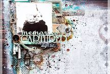 Scrapbook Inspiration / Scrapbook Layouts I absolutely love <3