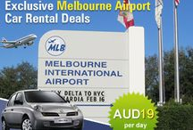 Melbourne Airport Car Rental / Hire affordable and comfortable cars on rent in Melbourne , Australia .