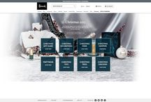 Christmas 2015 / Fashion eCommerce Christmas creative