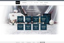 Christmas 2015 / Fashion eCommerce Christmas creative
