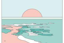 | pastel illustrations |