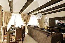 Interior Design in Šurany - Dining Room & Living Room