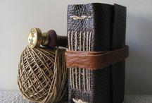My handmade journals / Handmade leather journal