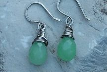 Holiday Sterling Silver Earrings / This is a nice collection of earrings that I love to make!