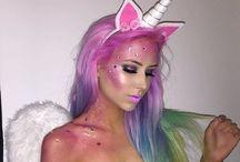 Fantasia de unicornio / Ideias de fantasias femininas de unicórnio.