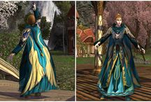 Material Middle-earth / LOTRO outfits I've created