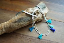 Bohemian Handmade Necklaces / http://www.harempants.com/collections/handmade-necklaces