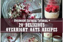 Breakfast - Oatmeal ~ Overnight and Baked / by Tara Stout-Losier