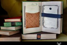 Book Themed Wedding Ideas / by Book-Inz by Ky Nguyen-Zubroski