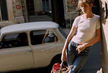 Jane Birkin effortless style