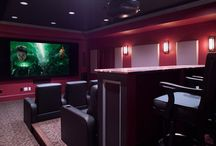 Media Room Ideas / by Michelle Sample