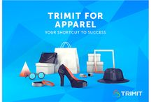 TRIMIT Partnership || Graphics / Flyers / Postcards / Graphics for partner recruitment, Low Poly fashion, furniture, manufacturing. Danish ISV selling software based on Microsoft Dynamics NAV.